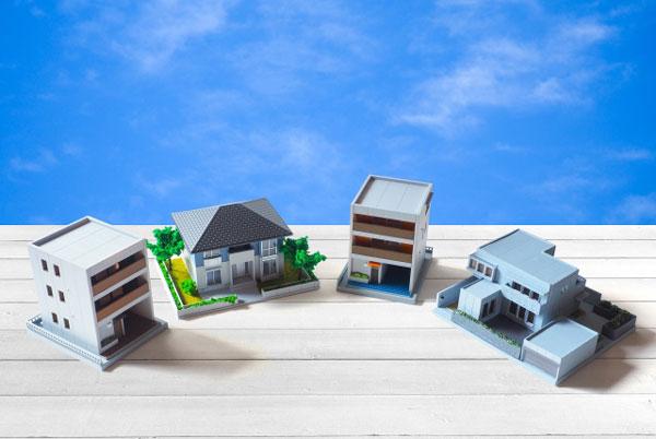 空き家活用のメリット 住宅模型