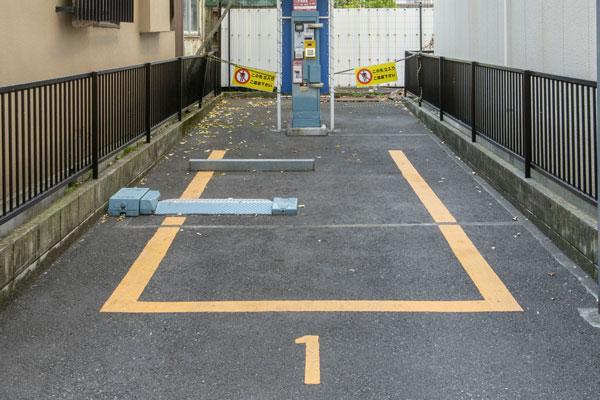 駐車場にする 狭いスペースの駐車場