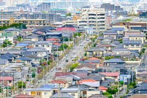 エリアが悪ければ土地を買い替える 市街イメージ